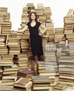 helen with books